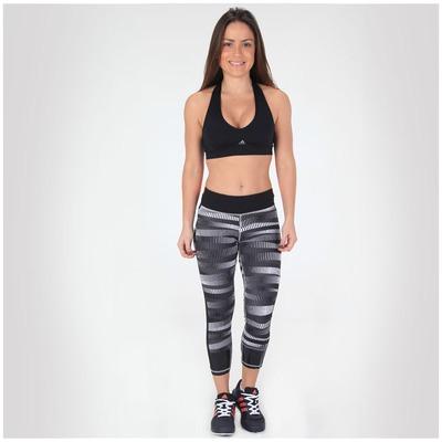 Calça Corsário adidas Std Power Gráfica - Feminina