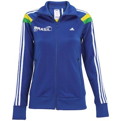 Jaqueta adidas Brasil Wc14 - Feminina