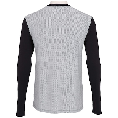 Camiseta Manga Longa Asics Mesh Poliamida LS - Masculina
