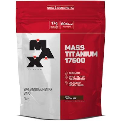 Mass Titanium 17500 3Kg - Chocolate - Max Titanium