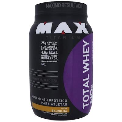 Total Whey NO²– 900 g – Sabor Baunilha - Max Titanium