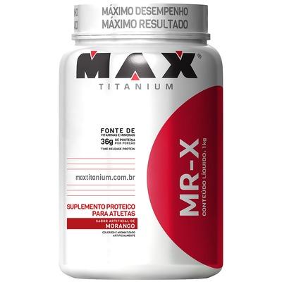 MR-X Max Titanium - Morango - 1Kg