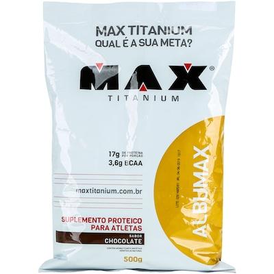 Albumina Max Titanium Albumax - 500 g - Sabor Chocolate