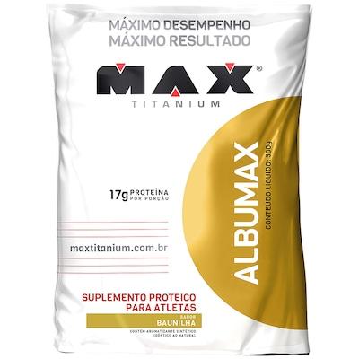 Albumina Max Titanium Albumax - 500 g - Sabor Baunilha