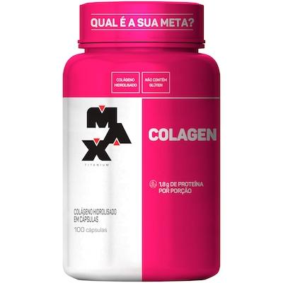 Colágeno 500 - 100 Cápsulas - Max Titanium
