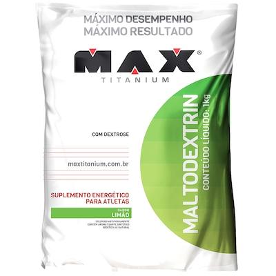 Maltodextrina Max Titanium Malto Dextrin - Limão - 1Kg