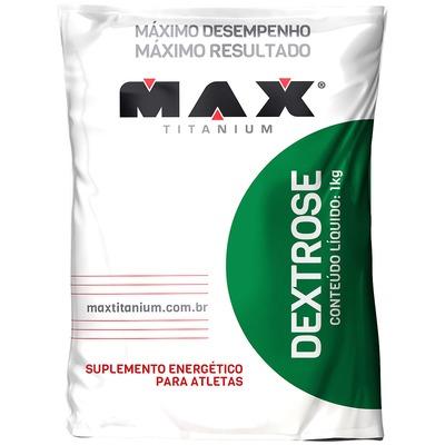Dextrose Max Titanium - Sem Sabor - 1Kg