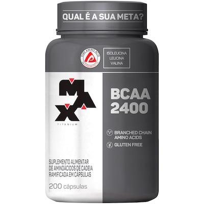 BCAA Max Titanium BCAA 2400 - 200 Cápsulas