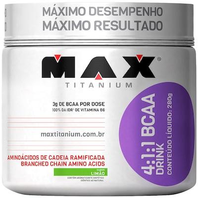 BCAA Max Titanium 4:1:1 BCAA Drink - Limão - 280g