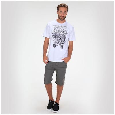 Camiseta Skate Urgh Navajo Skull - Masculina
