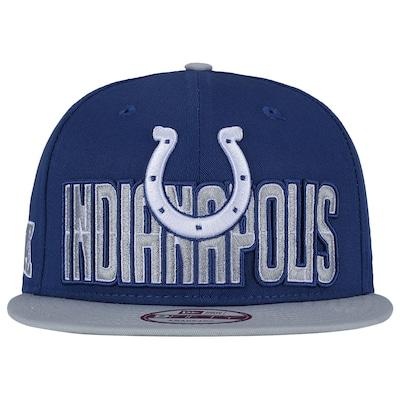 Boné Aba Reta New Era Indianapolis Colts Draft NFL - Snapback - Adulto