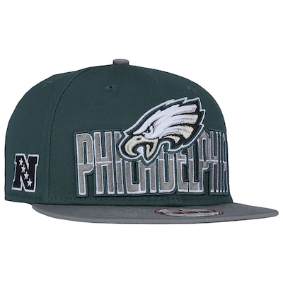 Boné Aba Reta New Era Philadelphia Eagles Draft NFL - Snapback - Adulto