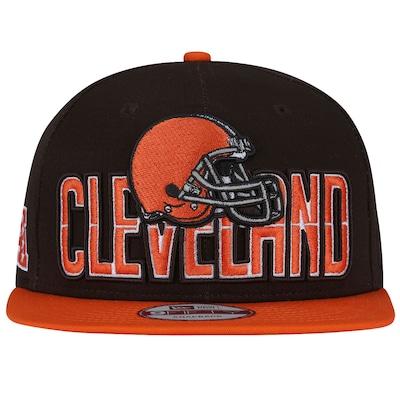 Boné Aba Reta New Era Cleveland Browns Draft NFL - Snapback - Adulto