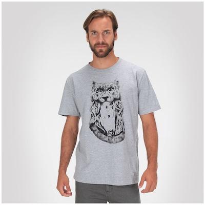 Camiseta Rusty Cat Girl - Masculina