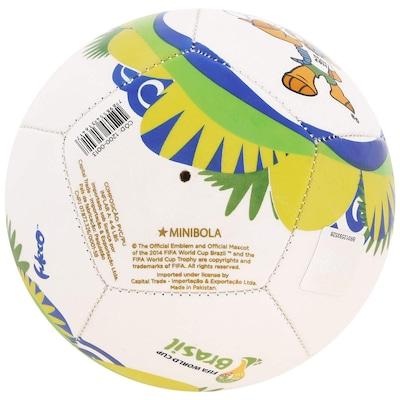 Minibola de Futebol de Campo Copa Fifa Fuleco L11 - Infantil