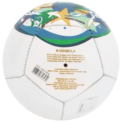 Minibola de Futebol de Campo Copa Fifa Fuleco L17 - Infantil