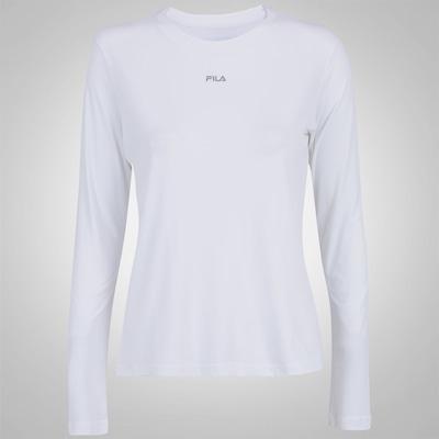 Camiseta Manga Longa Fila Sunprotect - Feminina