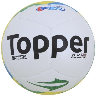 Bola de Futebol de Campo Topper KV Carbon 12 RJ14