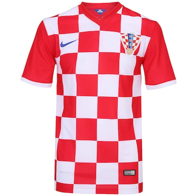 Camisa Nike Seleção Croácia s/n 2014 - Torcedor