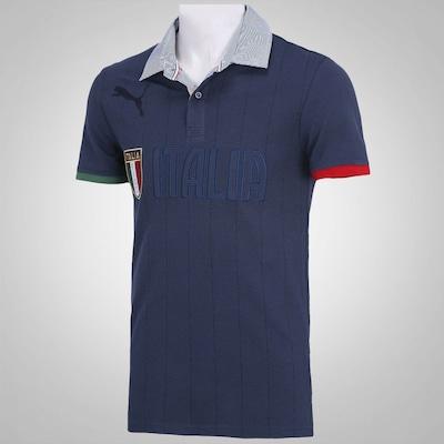 Camisa Polo Puma FIGC Itália