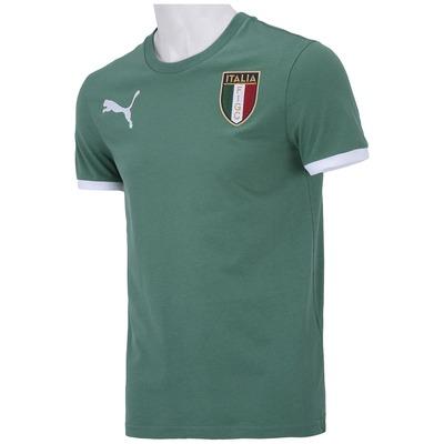 Camiseta Itália Puma Badge FIGC - Masculina