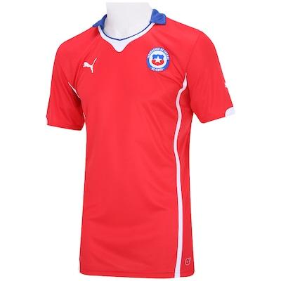 Camisa Puma Chile I 2014 s/ nº
