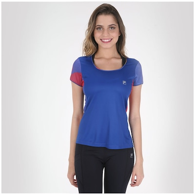 Camiseta Fila Stamp - Feminina