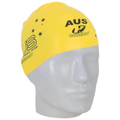 Touca de Natação Hammerhead Silicone Austrália – Adulto