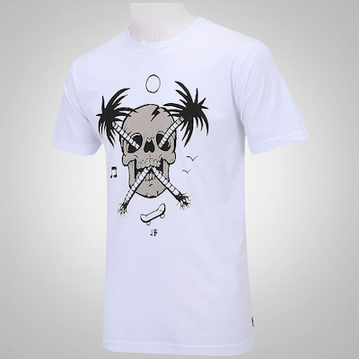 Camiseta Volcom Palm Skull Fa – Masculina