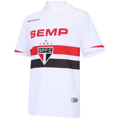 Camisa do São Paulo I 2014 s/nº Penalty - Infantil