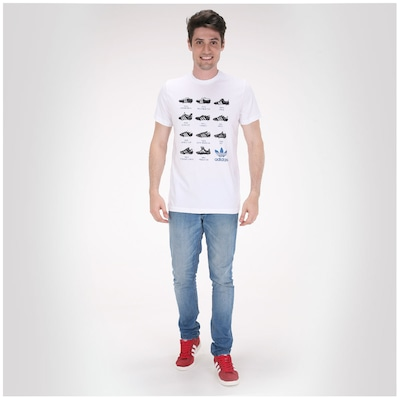 Camiseta adidas Football Fun Ss14 – Masculina