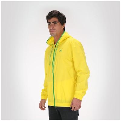 Jaqueta adidas Quebra Vento 3S Rain Com Capuz