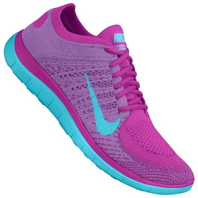 942b1e17a1b ... Tênis Nike Free 4.0 Flyknit – Feminino . ...
