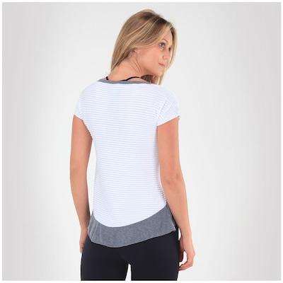 Camiseta Memo Drapeada Wis - Feminina