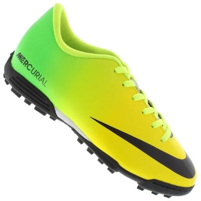 Chuteira Society Nike Mercurial Vortex TF - Infantil