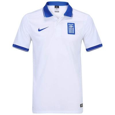 Camisa Nike Seleção Grécia I s/n 2014 - Torcedor