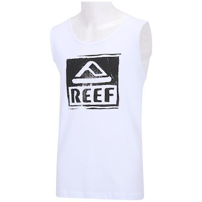 Camiseta Regata Reef Stamped Out