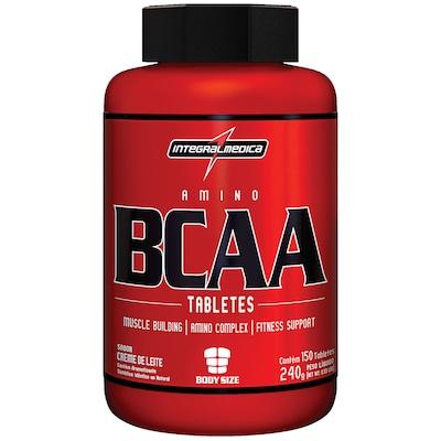 BCAA Integralmédica Amino BCCA - 150 Tabletes - Creme de Leite