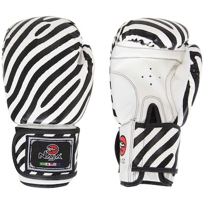 Luvas de Boxe Naja Zebra 10OZ