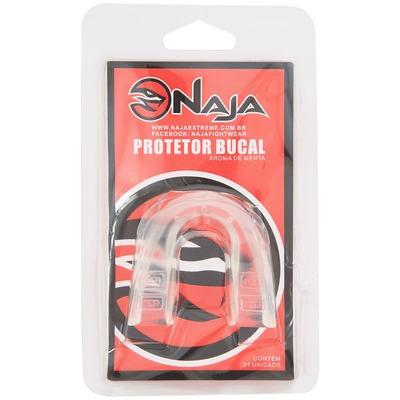 Kit de Boxe Naja Onça Com Luva 12OZ Bandagem e Protetor Bucal