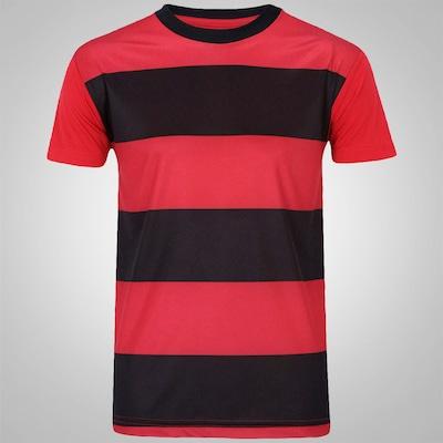 Camisa Rubro Negro