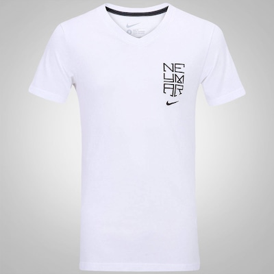 Camiseta Nike Neymar Logo Vneck - Masculina