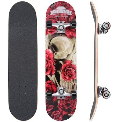 Skate X7 Flower Skull