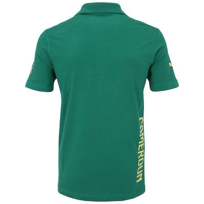 Camisa Polo Puma Camarões Hooped