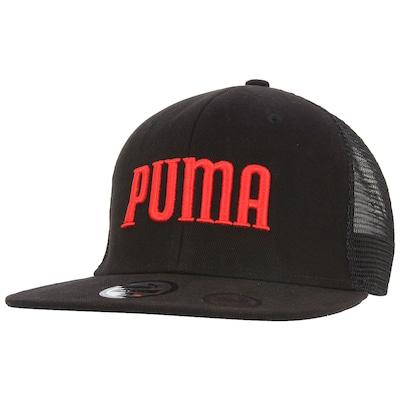Boné Aba Reta Puma Flatbrim Trucker - Adulto