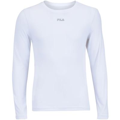 Camiseta Manga Longa com Proteção Solar UV Fila Basic - Masculina
