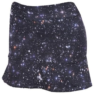 Short Saia Oxer Babado Galaxy - Feminino
