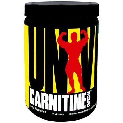 L-Carnitina Universal Carnitine Capsules - 60 Cápsulas