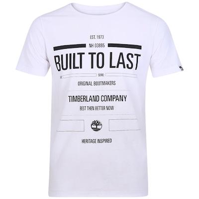 Camiseta Timberland Tipografia - Masculina