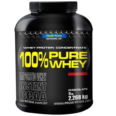 100% Pure Whey Protein 2, 268 Kg - Sabor Chocolate – Probiótica
